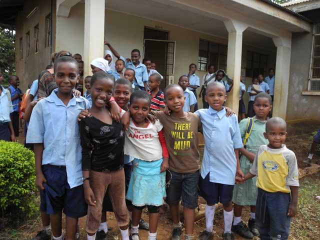 Moshi Private School Children