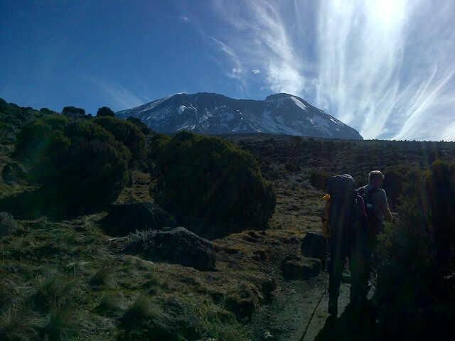 Shira Plateau to Barranco Camp